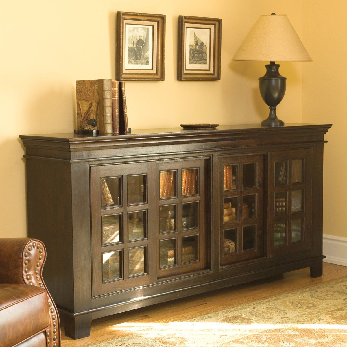 Dining Room Consoles: Classic Home 52001086 Carmel Sliding Buffet Sideboard