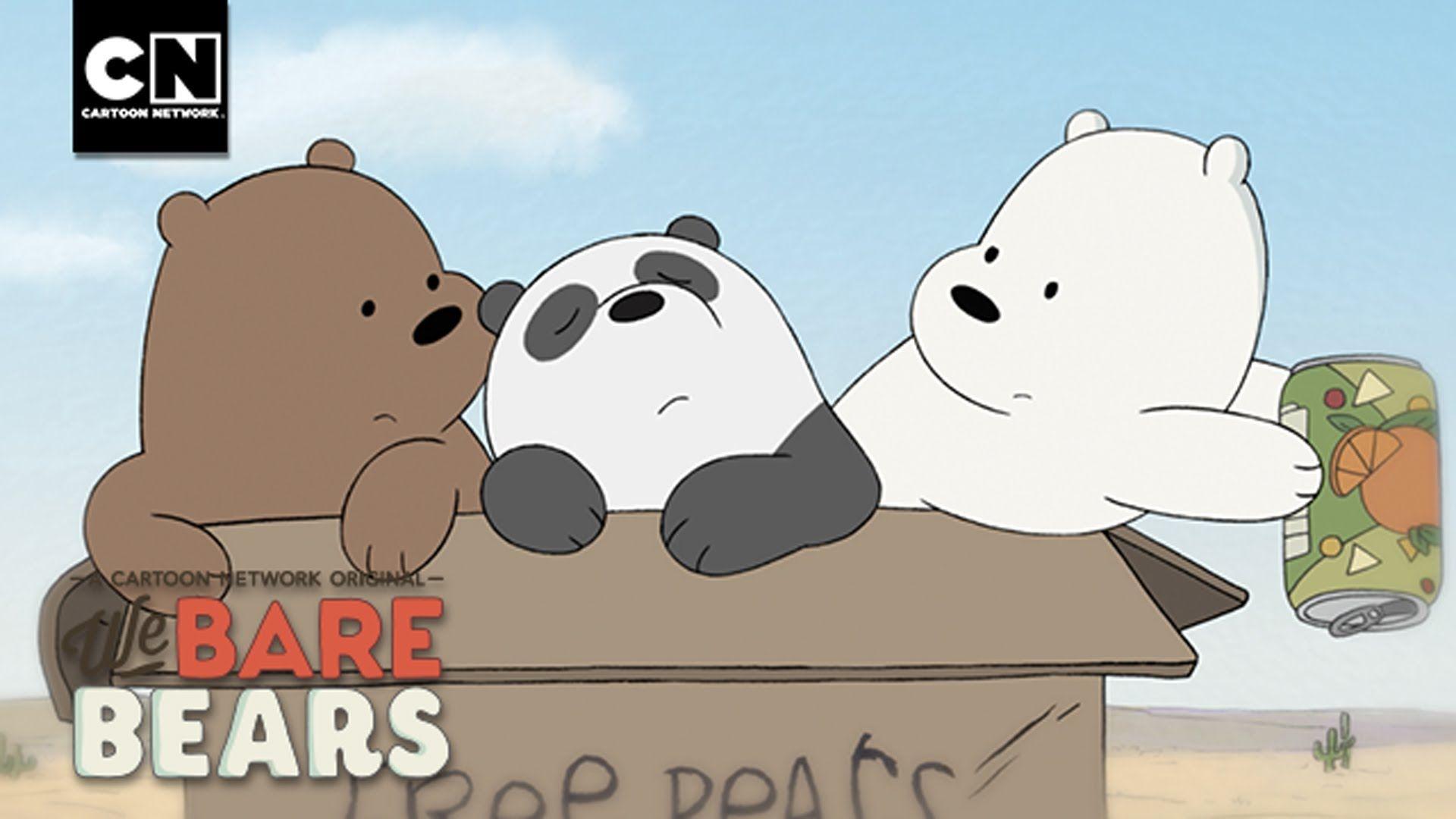 The Road Song I We Bare Bears I Cartoon Network Bear