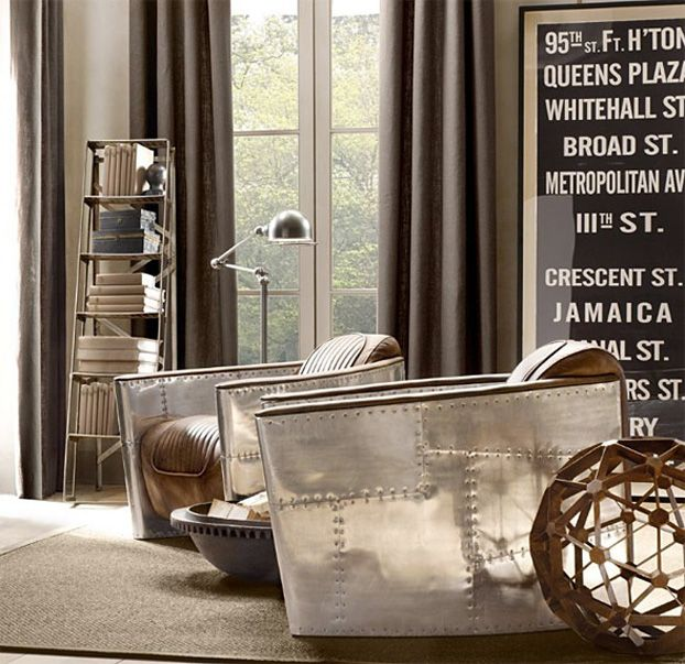 Aviator Living Room Furniture Collection By Restoration Hardware. | Luxury  Furniture | Modern Furniture |