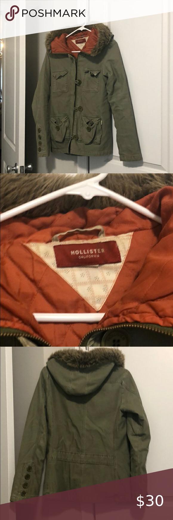 Hunter Green Hollister Jacket Hollister Jackets Jackets Hollister [ 1740 x 580 Pixel ]
