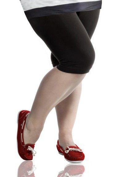 Black 3/4 Capri Leggings 4xl 5xl 6xl | Plus Size Tights and ...