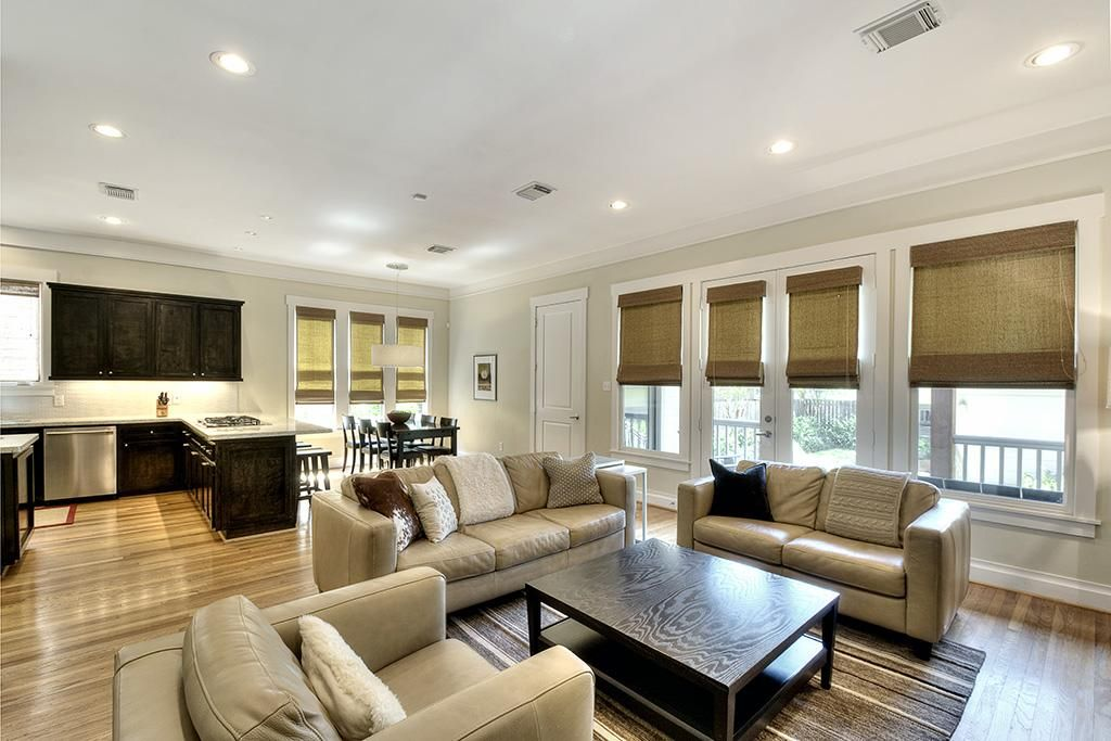 Open Floor Plan Window Treatments