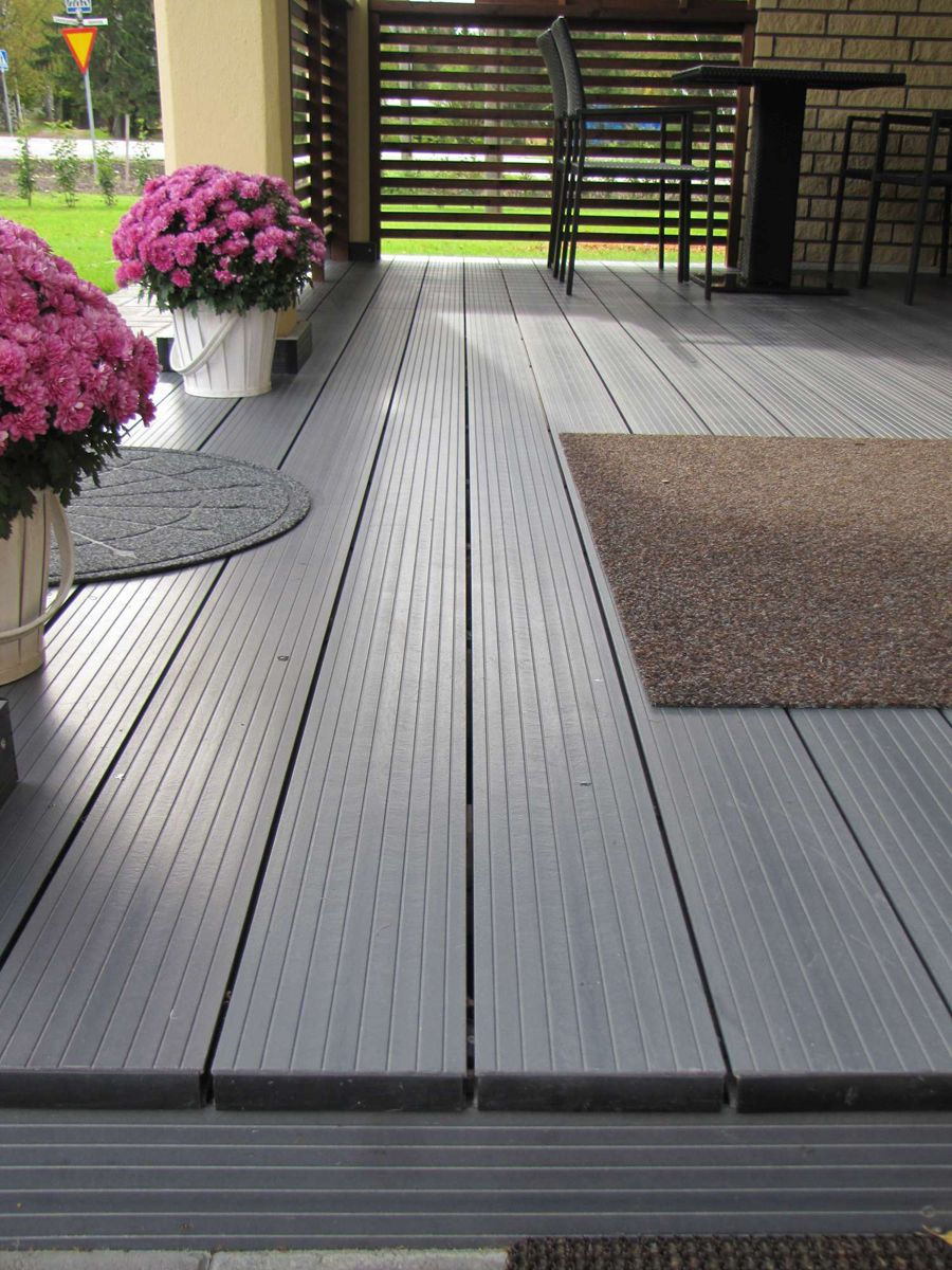 Solid wood composite decking ireland plastic wood Composite flooring for decks