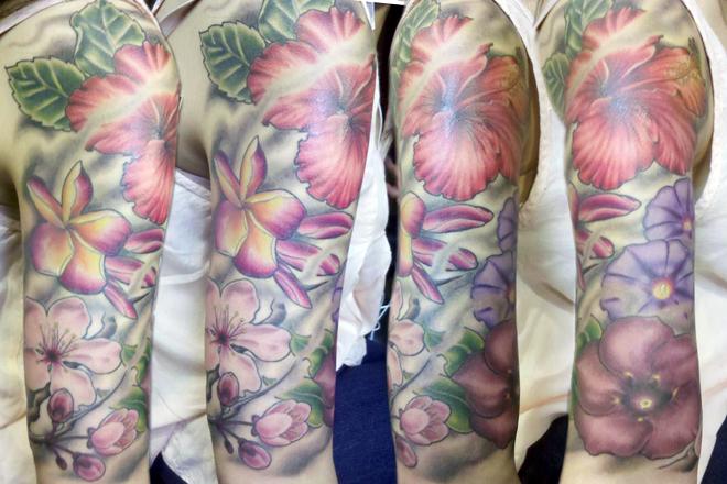 arnold_santos_spidermum San diego tattoo, Tattoos