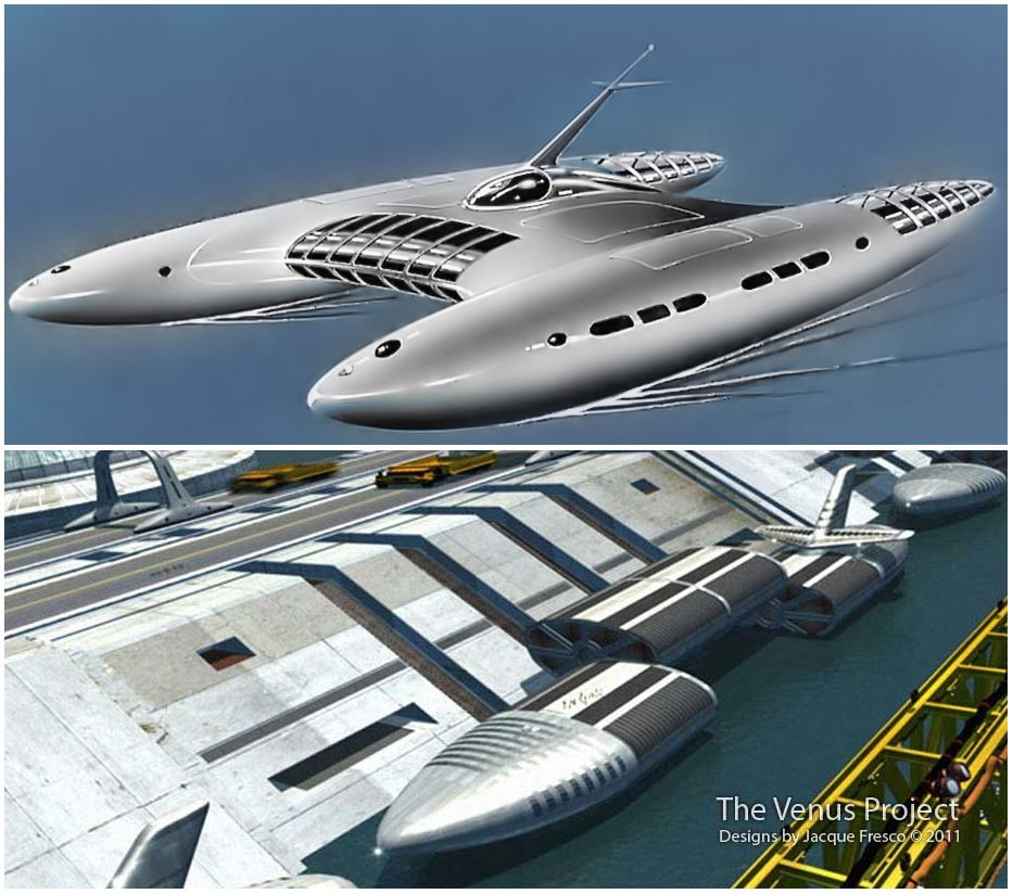 The Venus Project | Future sea crafts and freighters | Yacht design, Big  yachts, Concept ships