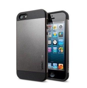 $9.99 Slim Armor S SPIGEN Case for iPhone 5/5s - Black