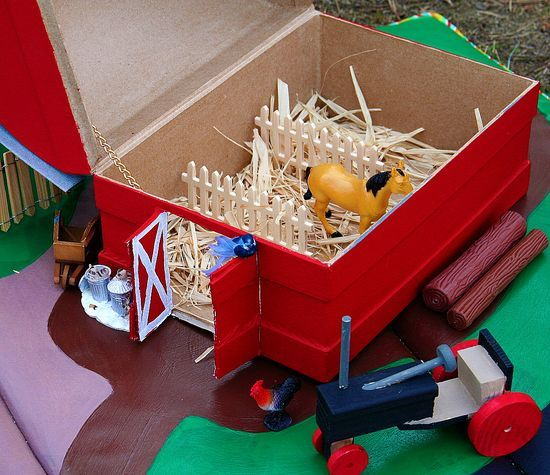 A Handmade Barnyard