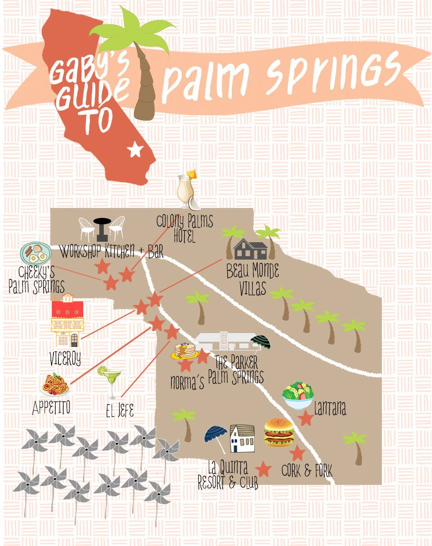 Gaby S Guide To Palm Springs A Complete Guide For Where To Eat