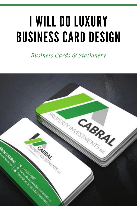 Nthamali85 I Will Do Luxury Business Card Design For 25 On Fiverr Com Luxury Business Cards Business Card Design Clean Business Card Design