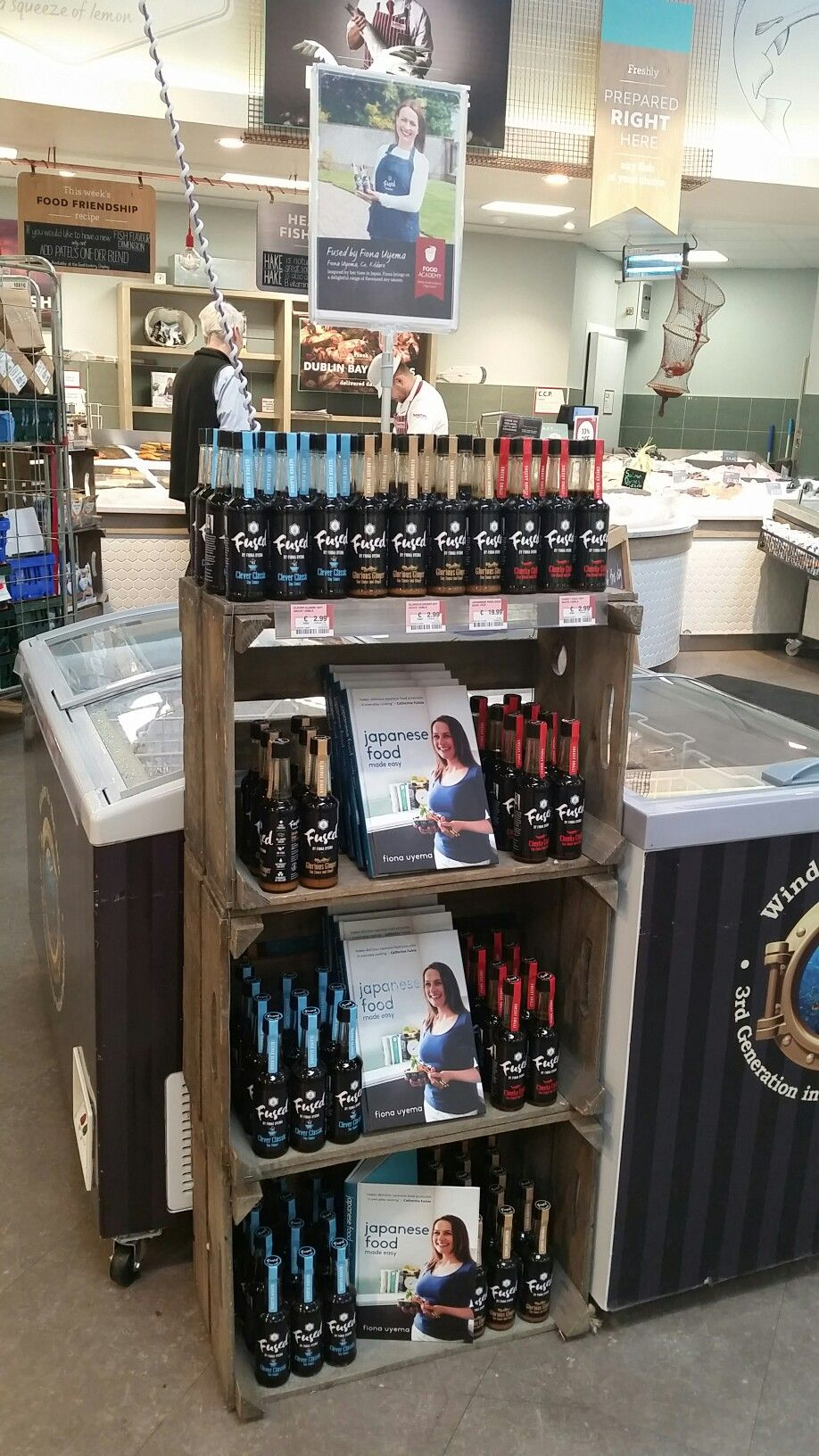 Fused by Fiona Uyema - range of flavoured spy sauces now available in Supervalu stores