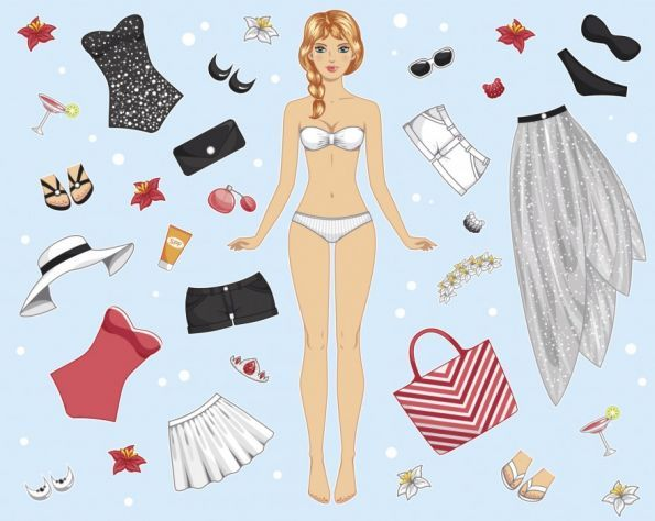 Moldes Y Patrones De Ropa En Papel Para Vestir Munecas Buscar Con Google Paper Dolls Paper Doll Dress Dress Up Dolls