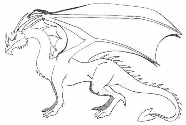Tutorial Para Dibujar Un Dragon Animal Art Art Moose Art