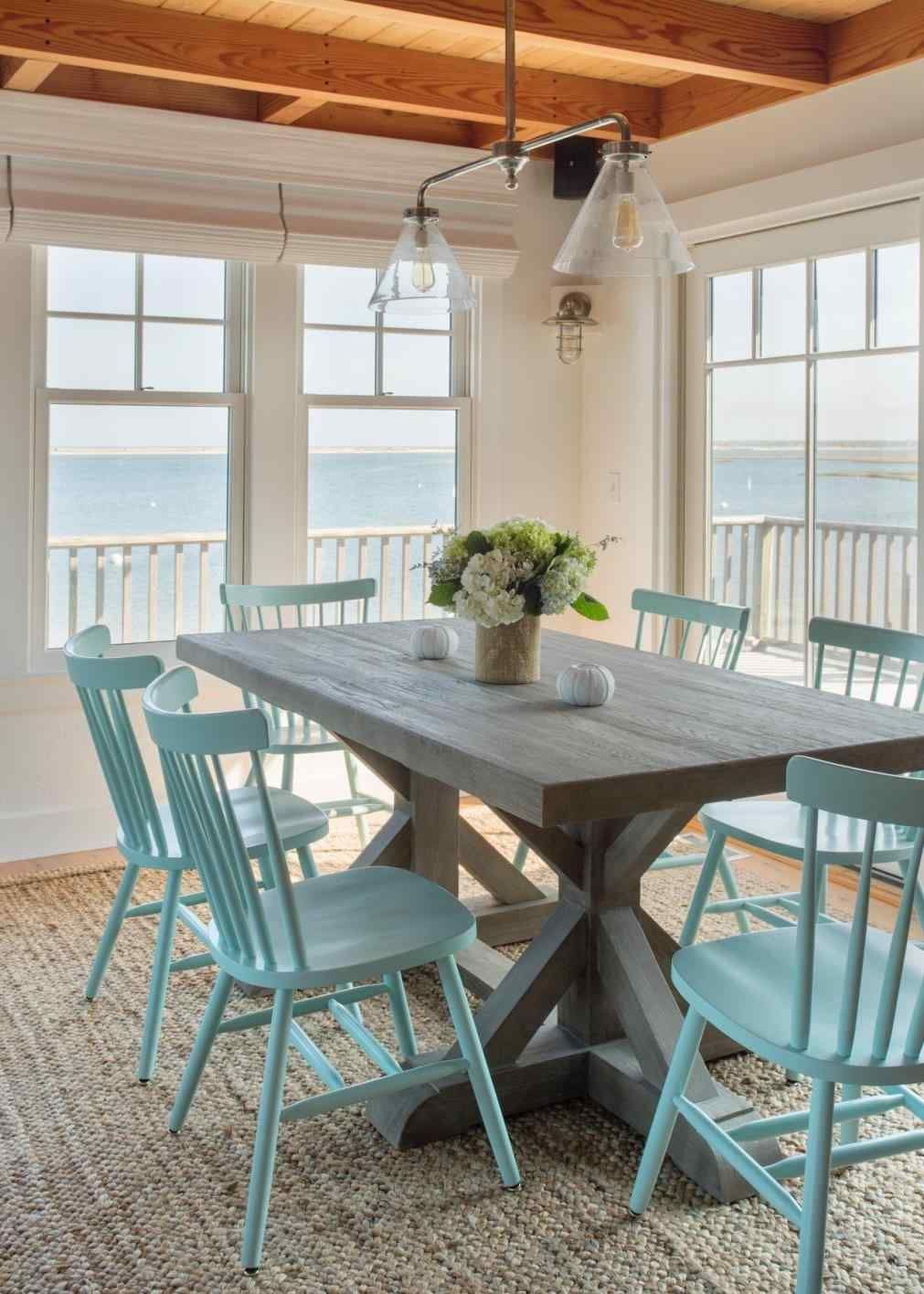 Beach House Dining Rooms - Coastal Living