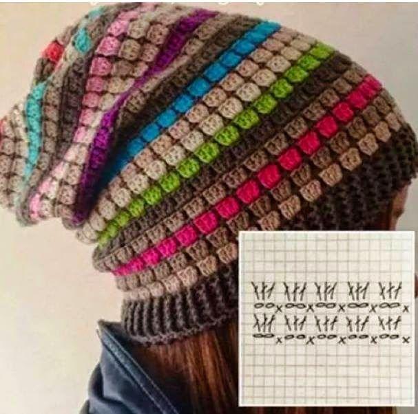 crochet beanie tomado del face | cepice | Pinterest | Caramelo ...