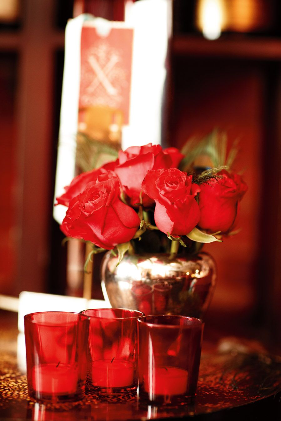 Put on your #rose-tinted #glasses and make a toast to #love. #MadAboutRed
