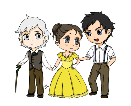 James Carstairs♥ Tessa Gray♥ Will Herondale♥