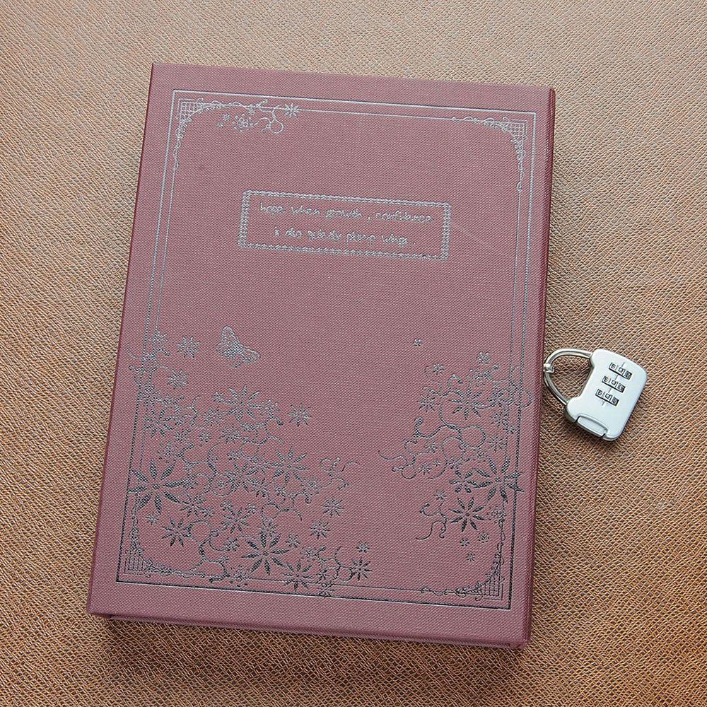 Quality Vintage Secret Diary Journal Notebook Sketchbook Memo With Lock Code Journal Notebook Journal Diary Secret Diary