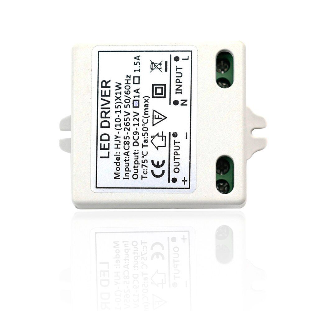 Dc9 12v Lighting Transformer Led Driver Power Adapter Ac85 265v Input 10w 15w Output 1a Power Supply For Strip Light Led Led Drivers Strip Lighting Led Lights
