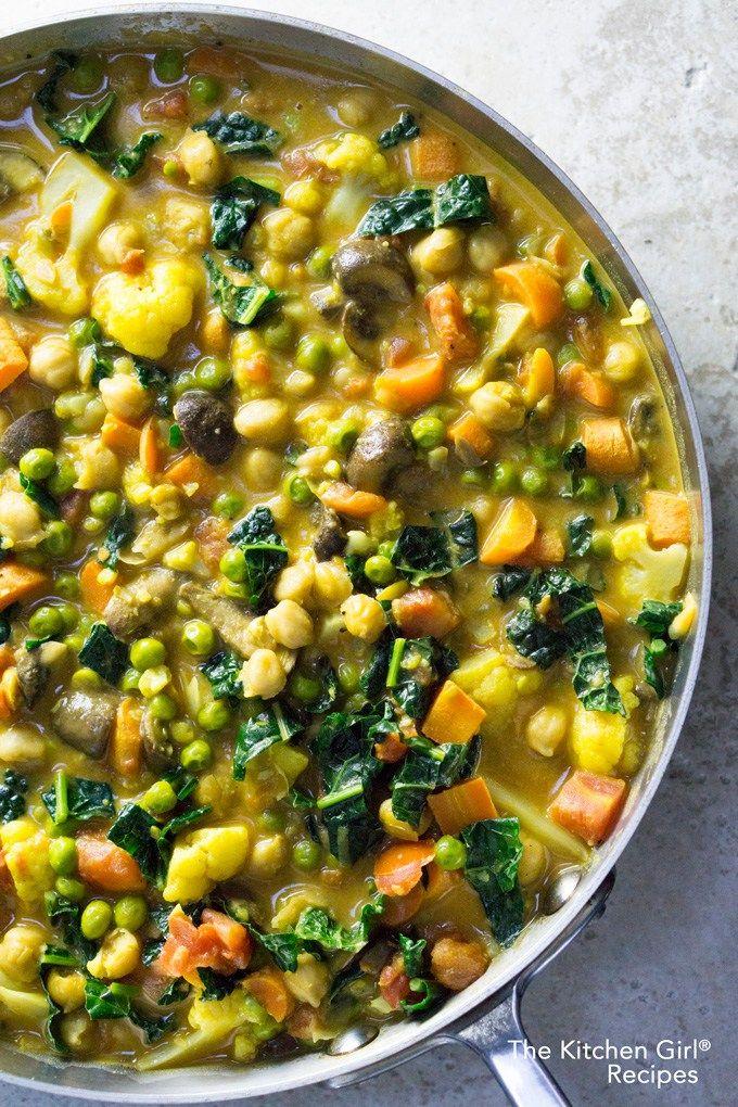 Vegan Thai Coconut Vegetable Curry Recipe Coconut Vegetable Curry Vegetable Curry Vegetarian Dishes