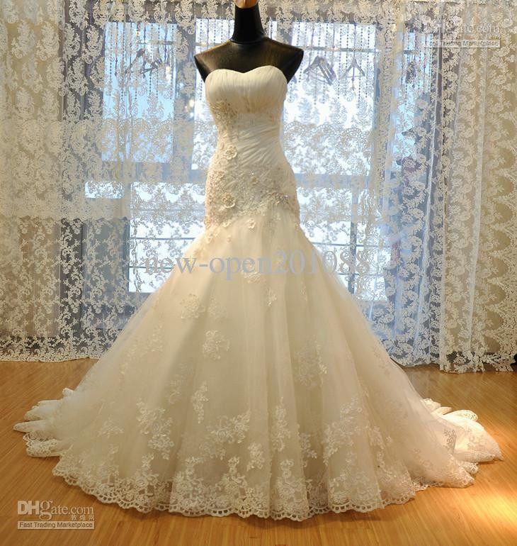 Cheap Wedding Dress - Discount 2012 New Wedding Dress Tulle ...