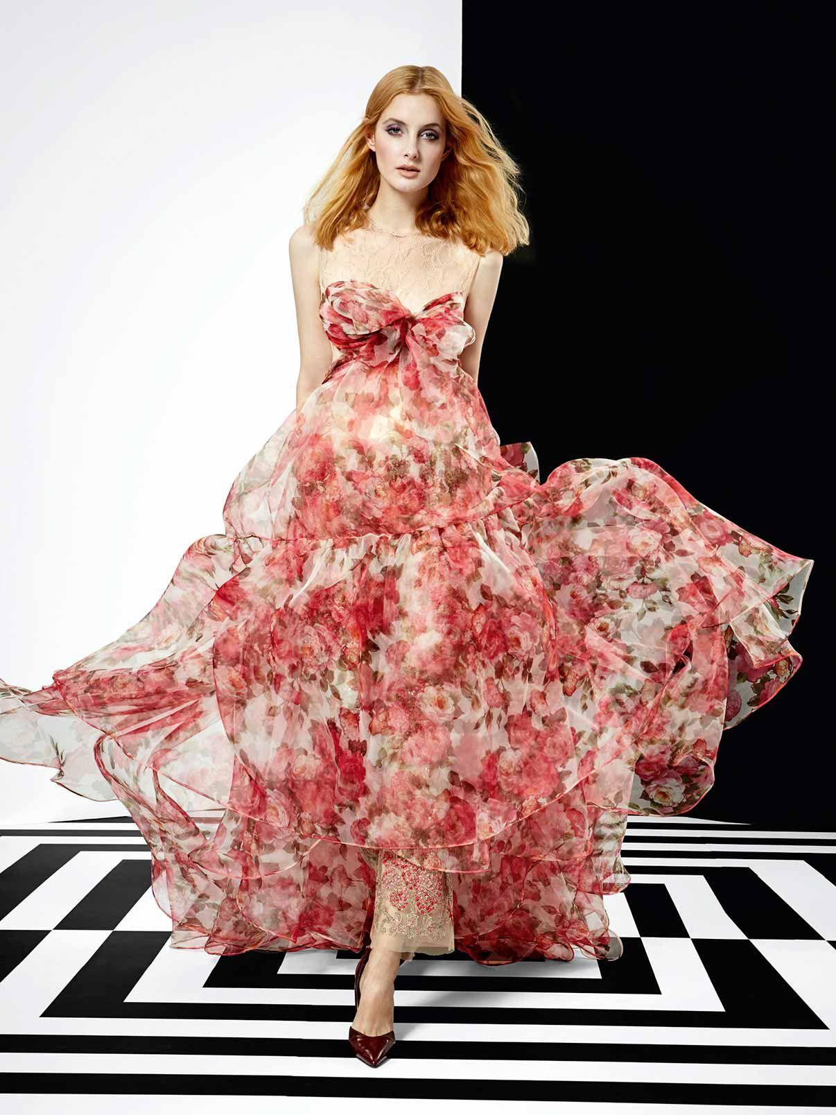 Dress, vestido, haute couture, evening ss 2016, yolancris, barcelona ...