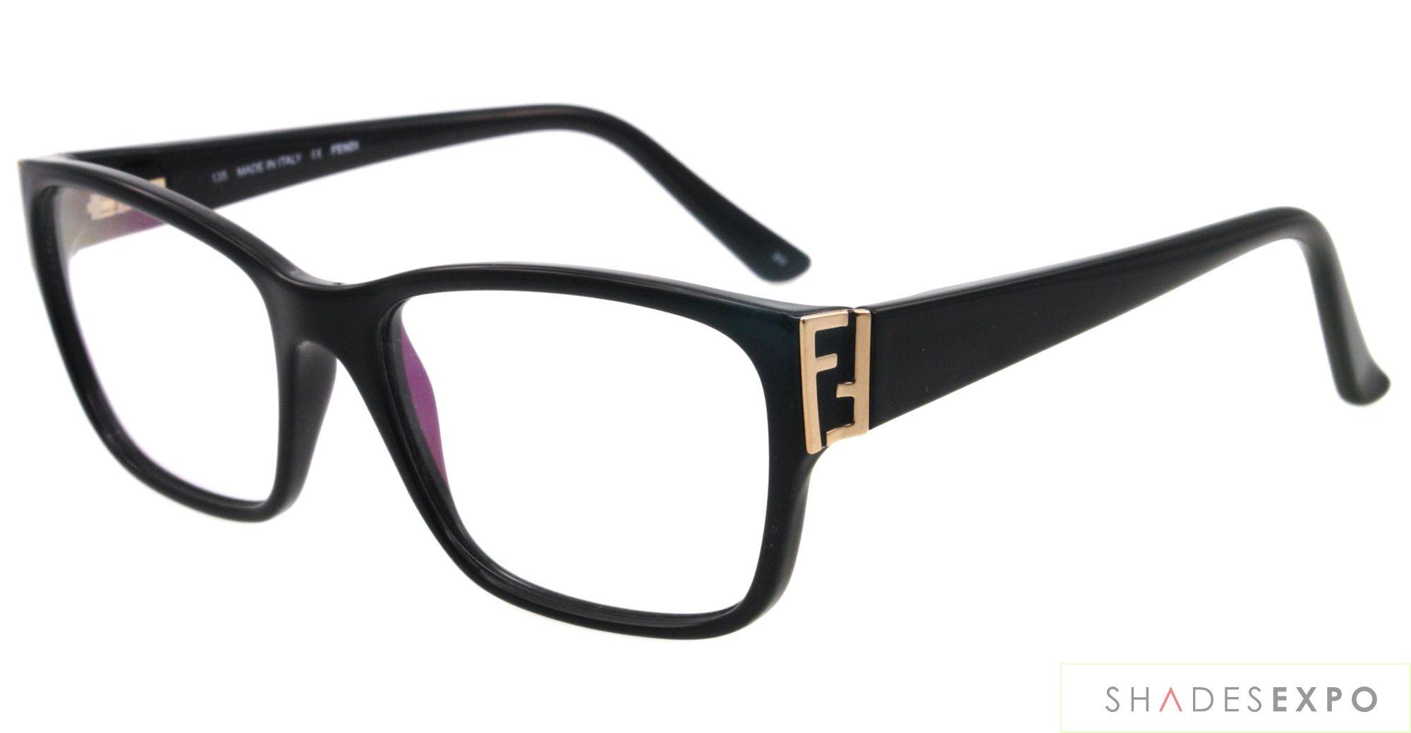 8a1aa87480 NEW Fendi Eyeglasses F 973 BLACK 001 52MM F973