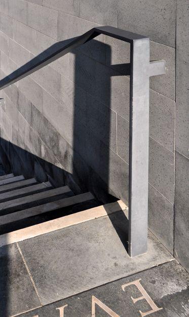 san michele cemetery handrail I chipperfield