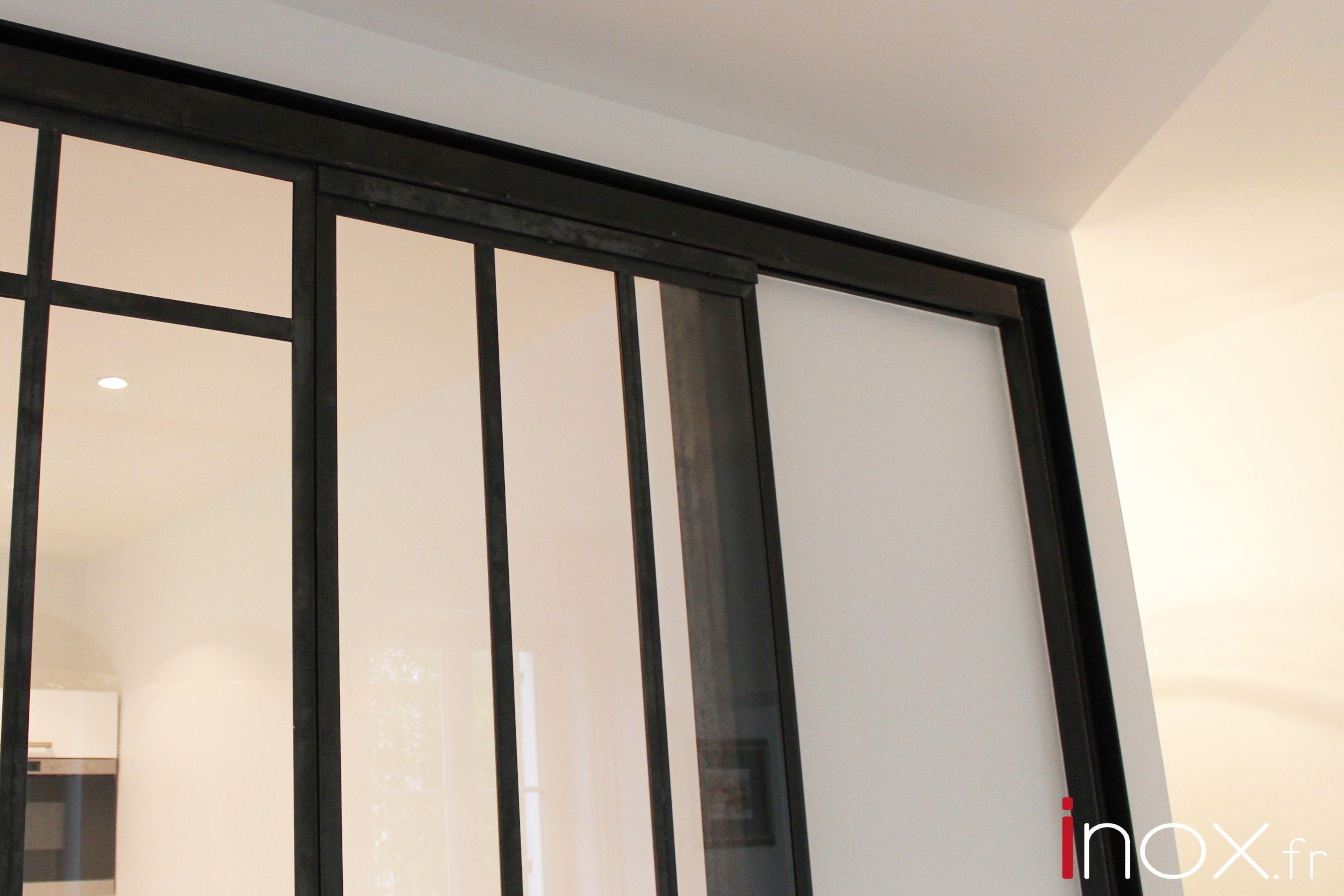 Fenêtre Datelier Acier Brut Avec Porte Coulissante Intégrée