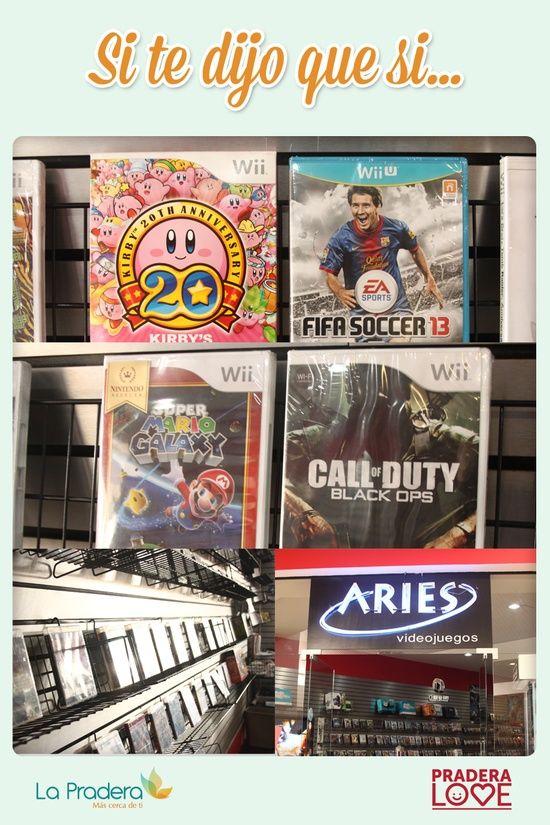 Y otro de los regalos ideales, que encuentro en Centro Comercial La Pradera Zona Diez, son los juegos de videos ya que a mi Valentin, le gustan mucho, y hay una gran variedad que se convertirian en el regalo ideal.