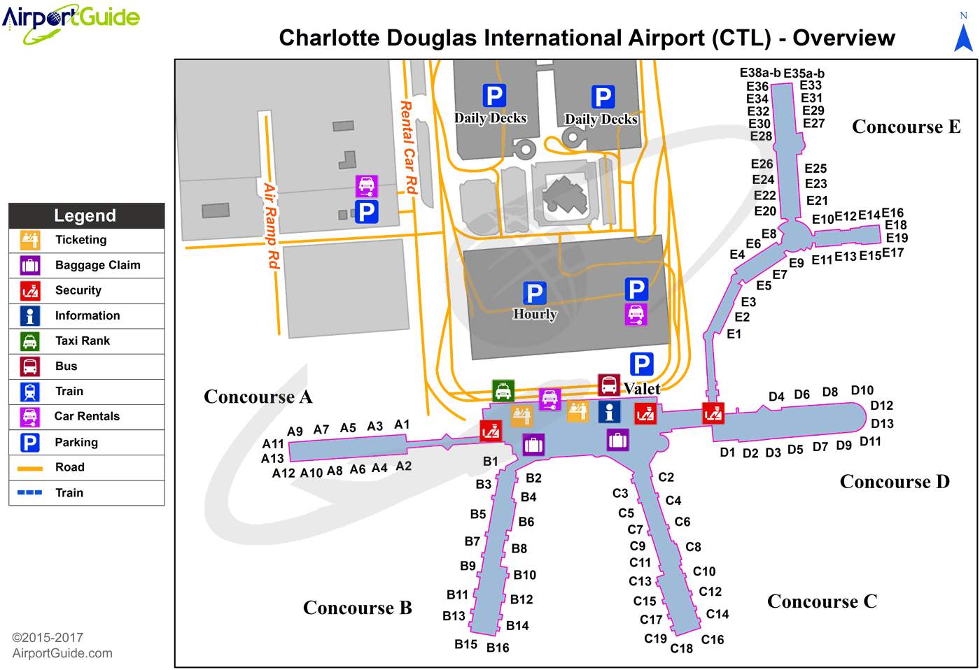 Charleville Charleville (CTL) Airport Terminal Map