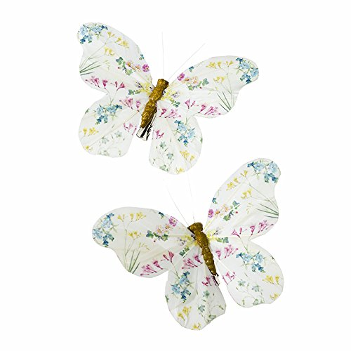 Talking Tables Truly Fairy Butterfly Feather Clip