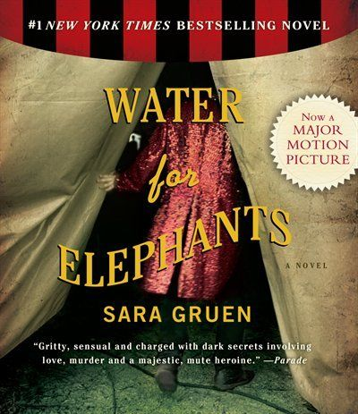 Water For Elephants <3  If you need a awesome book to read...