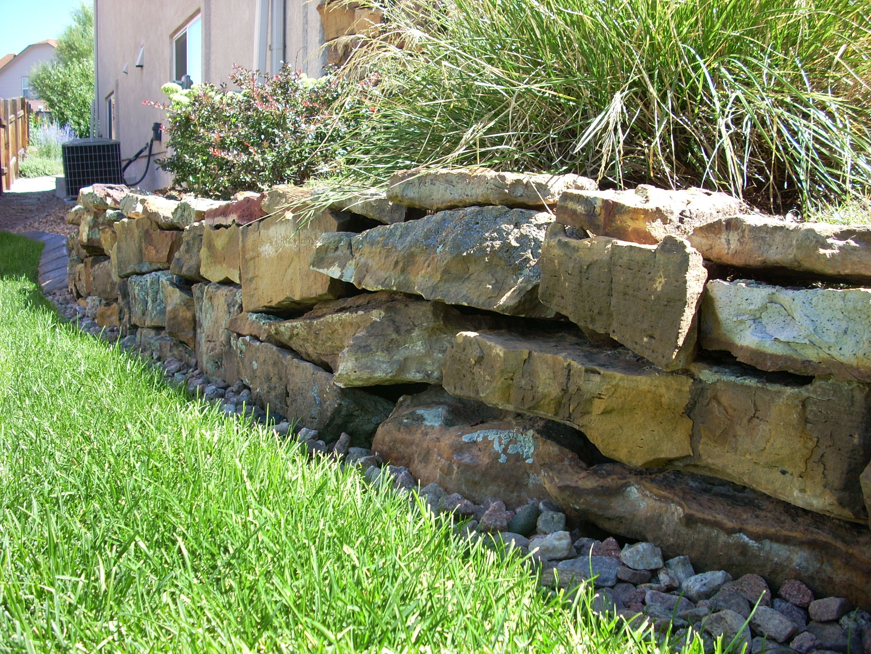 Moss Rock Retaining Wall Landscaping Retaining Walls Landscape Rock Retaining Wall