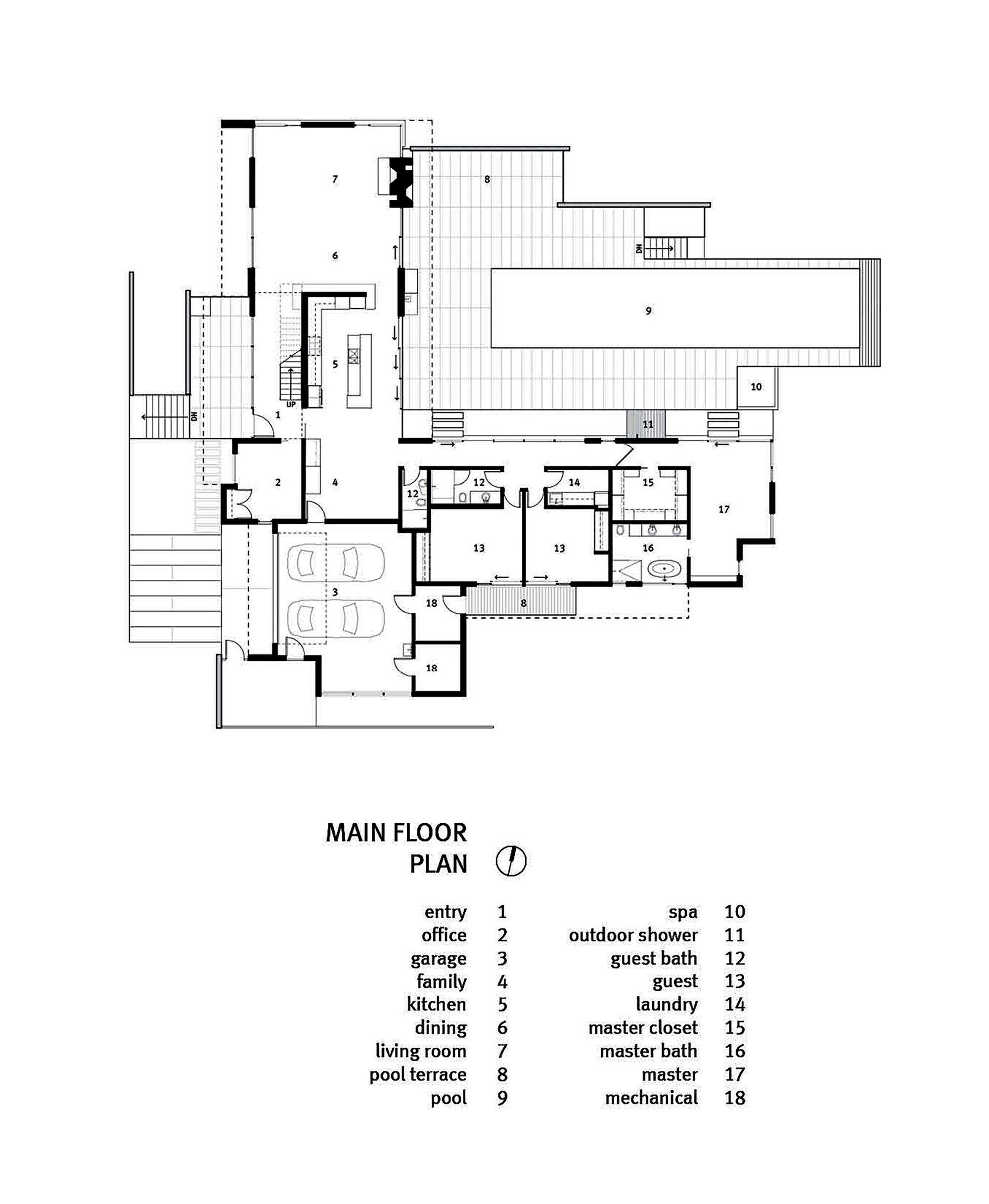 Analizaremos los planos, diseño de fachadas e interiores de moderna casa de un piso construida en terreno de 280 m², descubre una hermosa estructura donde se emplean paneles solares, pisos radian…