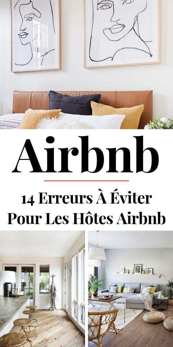 14 Erreurs à Éviter Quand on Loue son Logement sur Airbnb ...