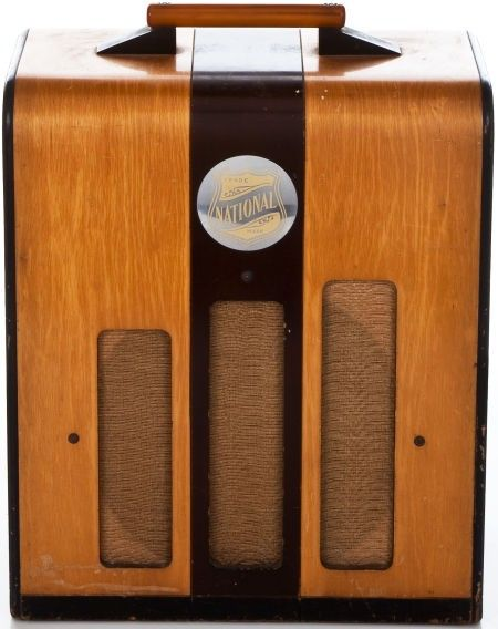 1940 U0026 39 S Guitar Amp By National