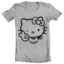 3d15ca385 Hello Kitty T-Shirt | Quote T-Shirts | Hello kitty, Kitty, Cat shirts