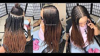 #250. THE KET BRAID - YouTube   Braids, Ombre hair tutorial, Feed in braid