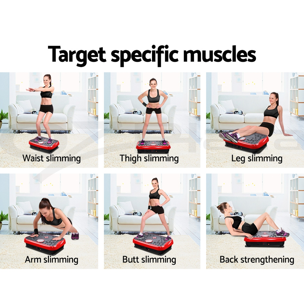 50++ Upper body exercises vibration plate inspirations