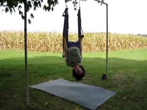 yoga swing vinyasa sequence intermediate instruction