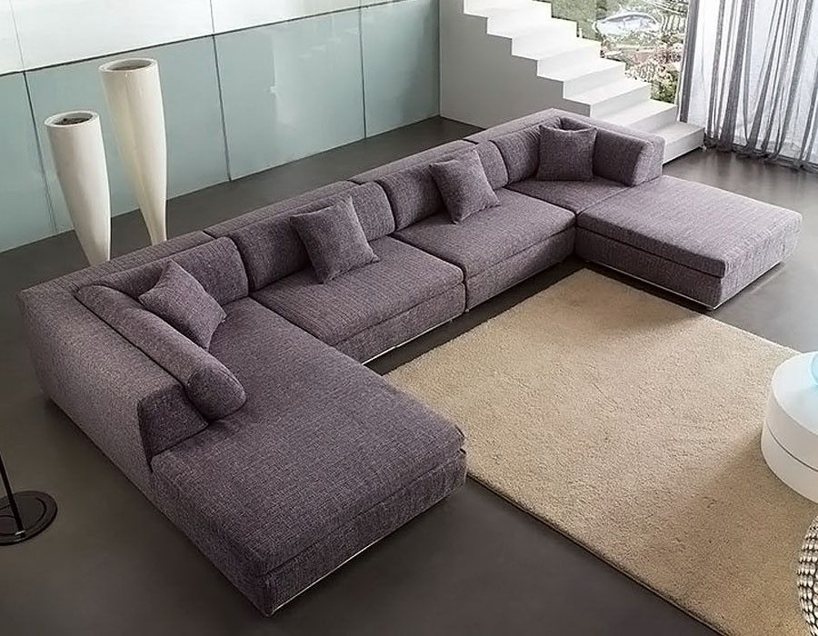 U Shaped Fabric Sectional Sofa Am B330 Living Room Sofa Design Living Room Sofa Living Room Furniture Sofas