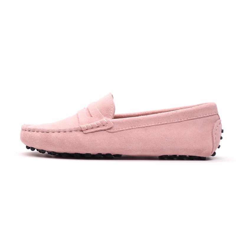 83cfaccfe1e12 MIYAGINA Women Leather Loafers Flats Moccasins Driving Shoes ...