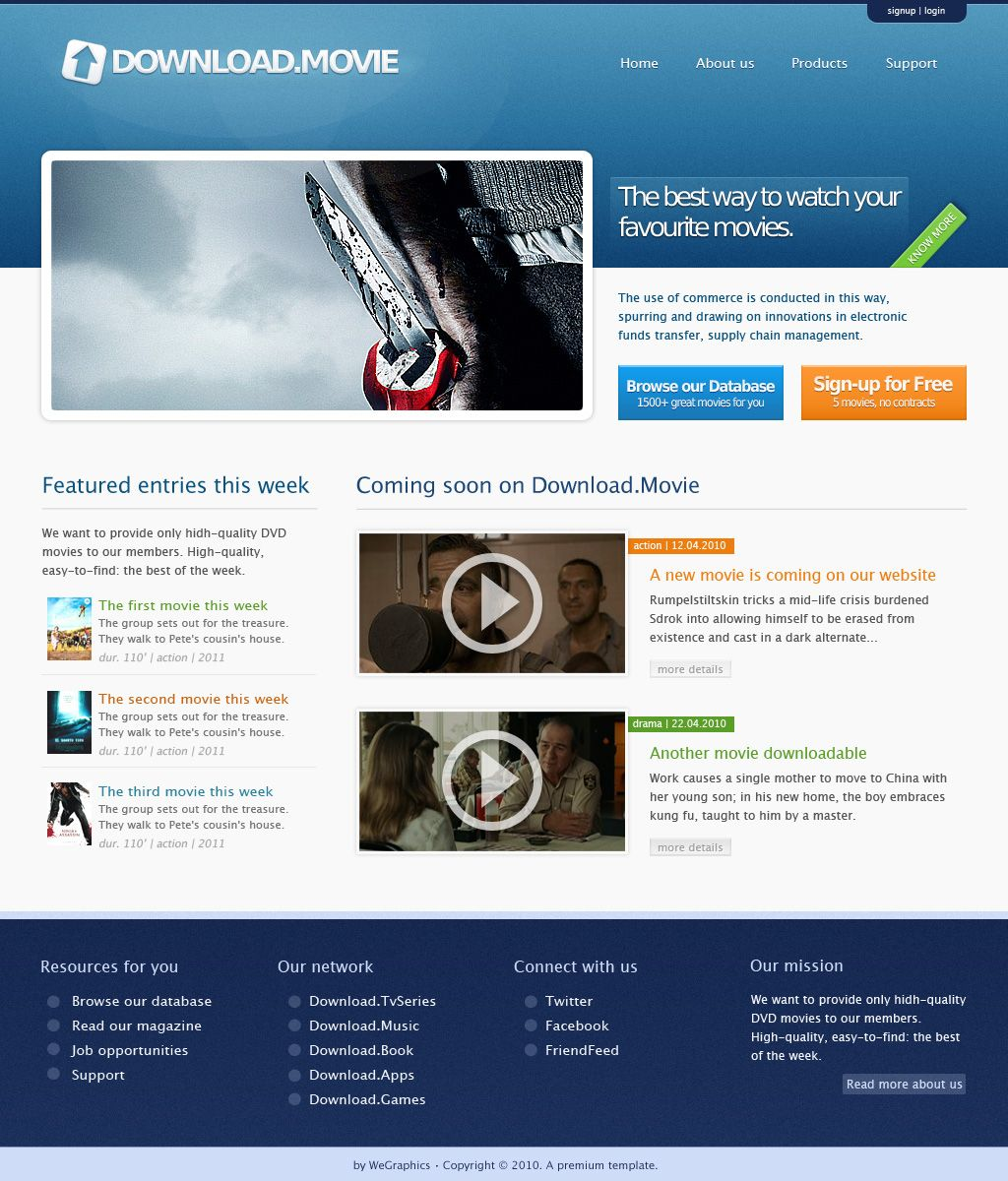 How to create a professional and clean web layout (with PSD-to ...
