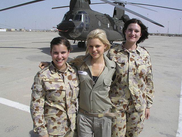 Female best soldiers looking Beautiful Korean