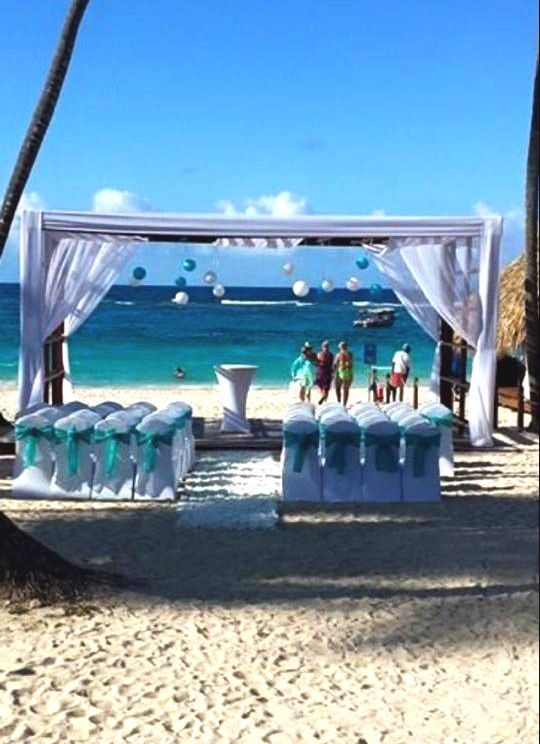 Royalton Punta Cana Wedding Gazebo On The Beach Puntacana Destinationwedding Royalton Punta Cana Resorts Destination Wedding Punta Cana Punta Cana Wedding