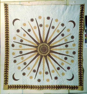 Sun, Moon, and Stars, ca. 1875-1900,  Woodard & Greenstein.  Looking more like a 1960's design.