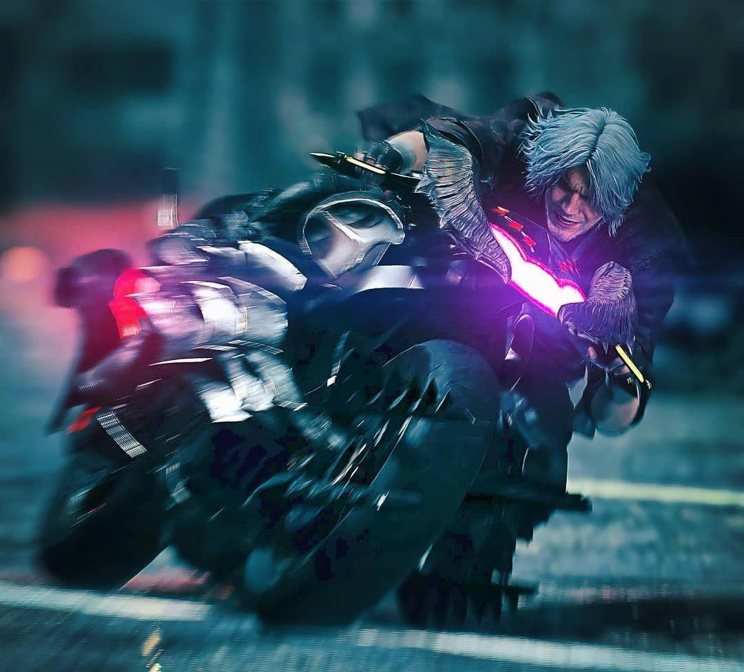 Devil May Cry 5: From 1 To 10: How Cool Is Dante's Bike In Devil May Cry 5