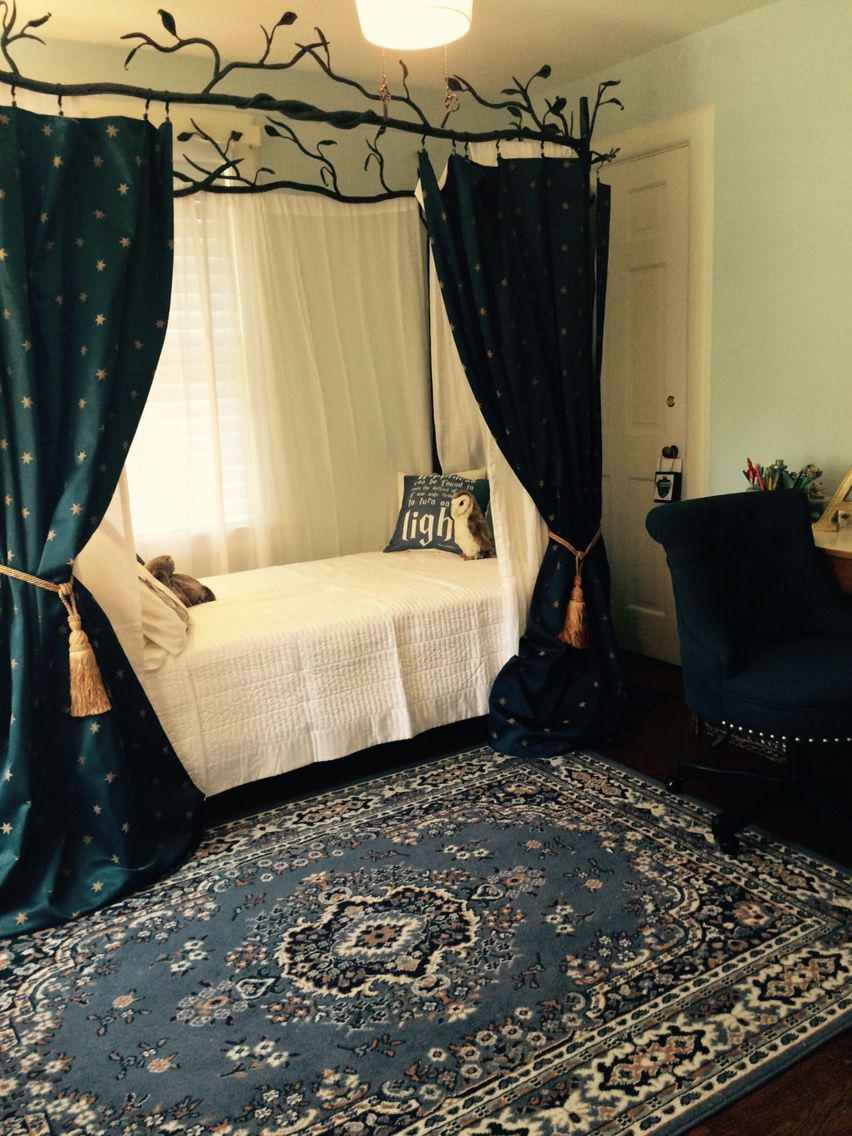 Decorating Theme Bedrooms: Ravenclaw Inspired Bedroom In