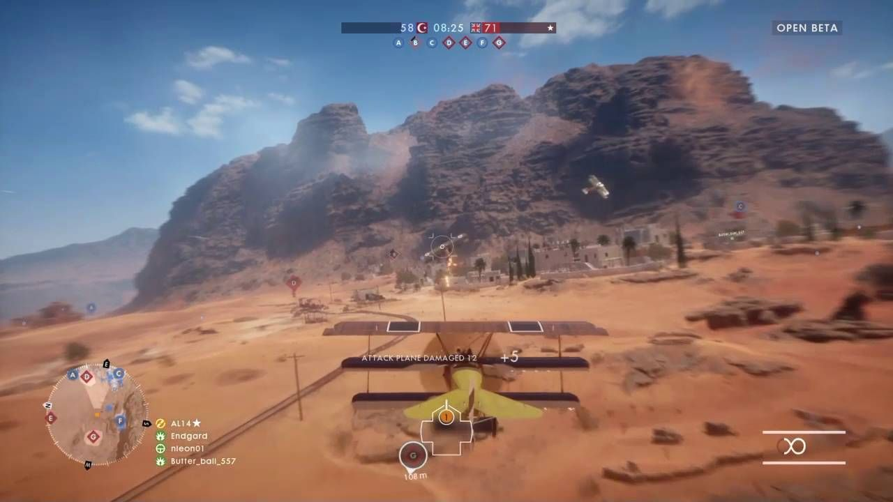 Some of My Best Dogfighting in Battlefield 1