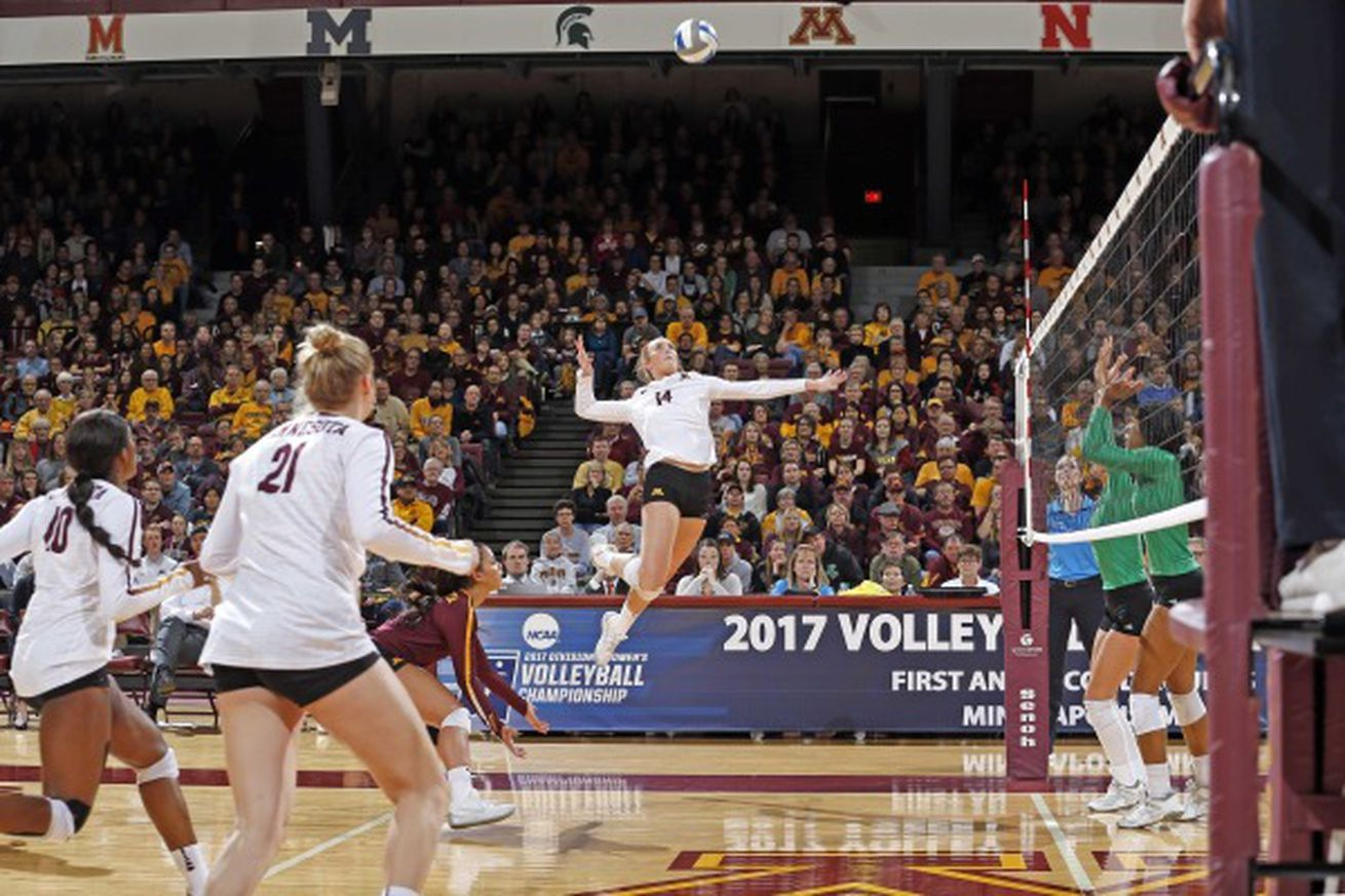 Gophers Best North Dakota In Three Female Volleyball Players Volleyball Pictures Volleyball